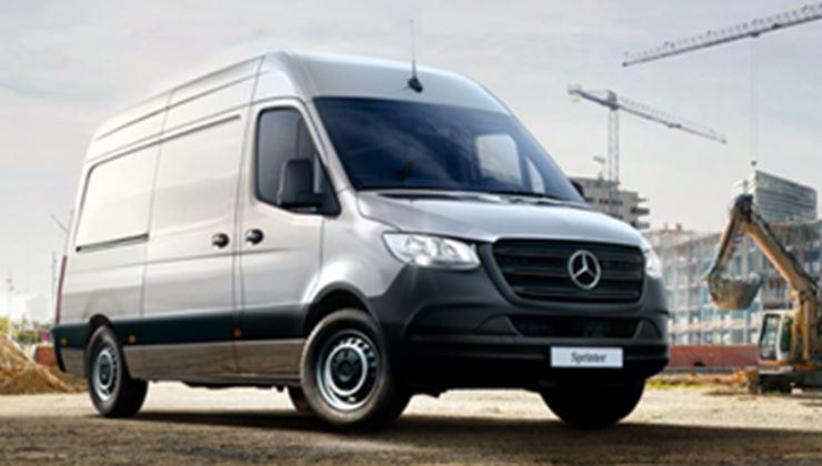 Mercedes Benz Sprinter >> Uusi Sprinter Vehotrucks